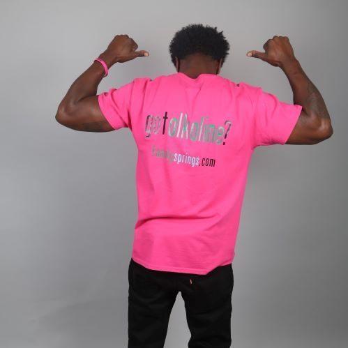 got alkaline/pink? t-shirt