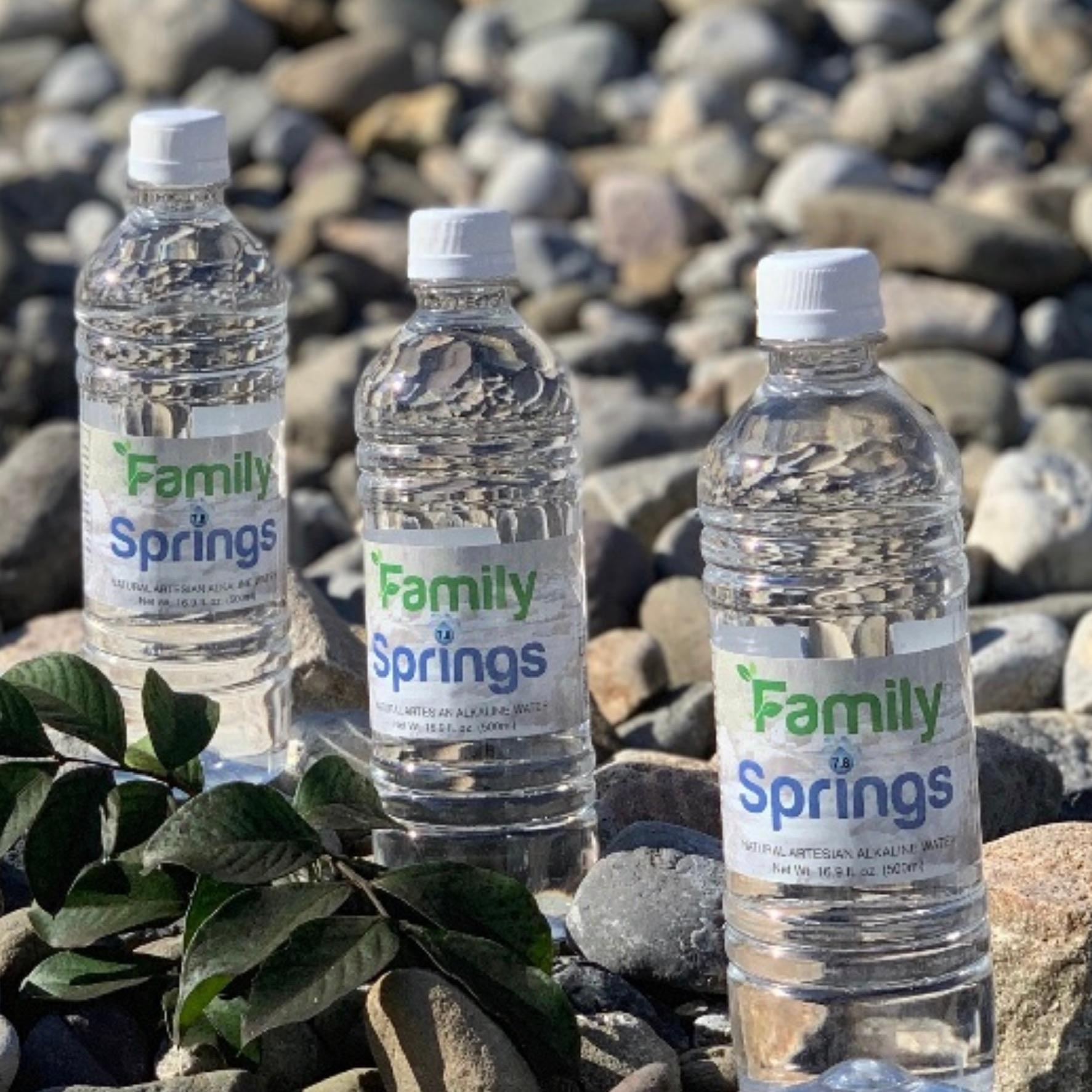 got alkaline? Family Springs