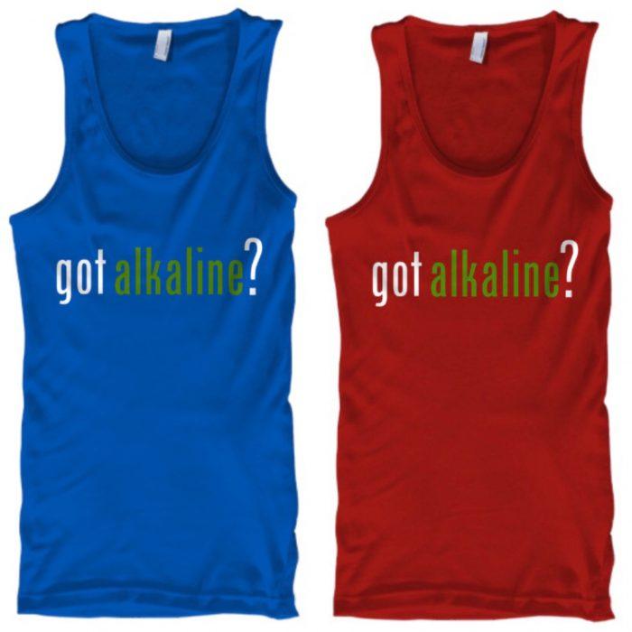 got alkaline? Blue