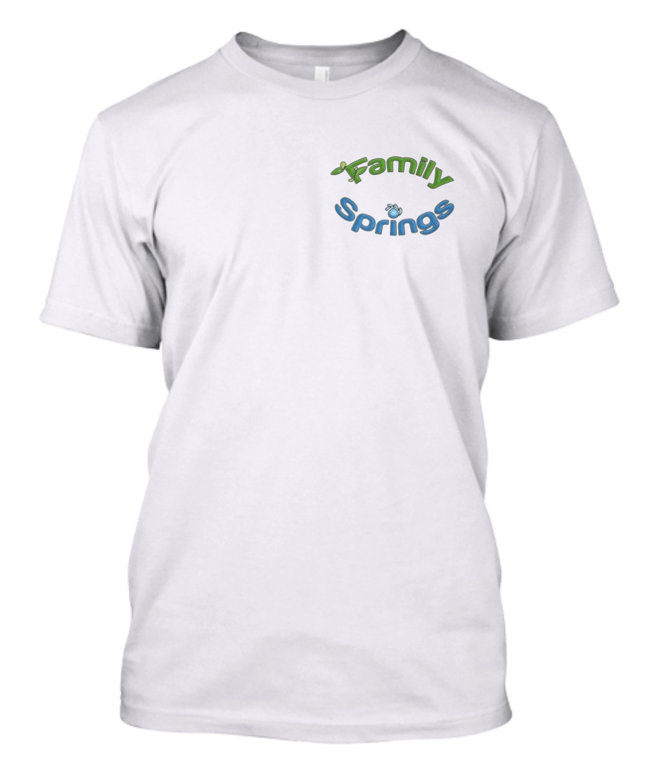 Family Springs Promotional label shirt