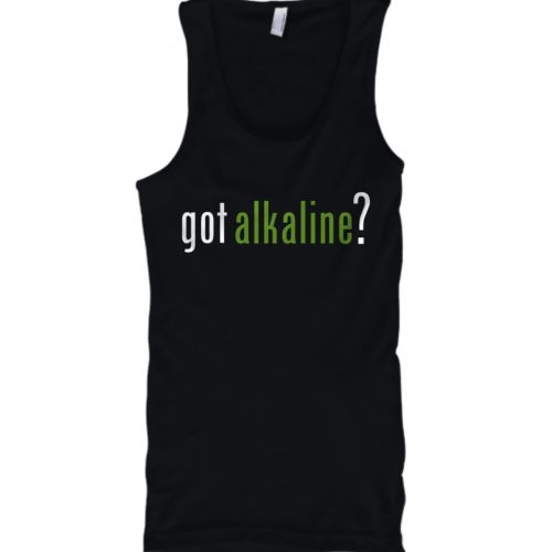 got alkaline? tank top